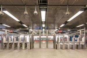 Second Avenue Subway cameras